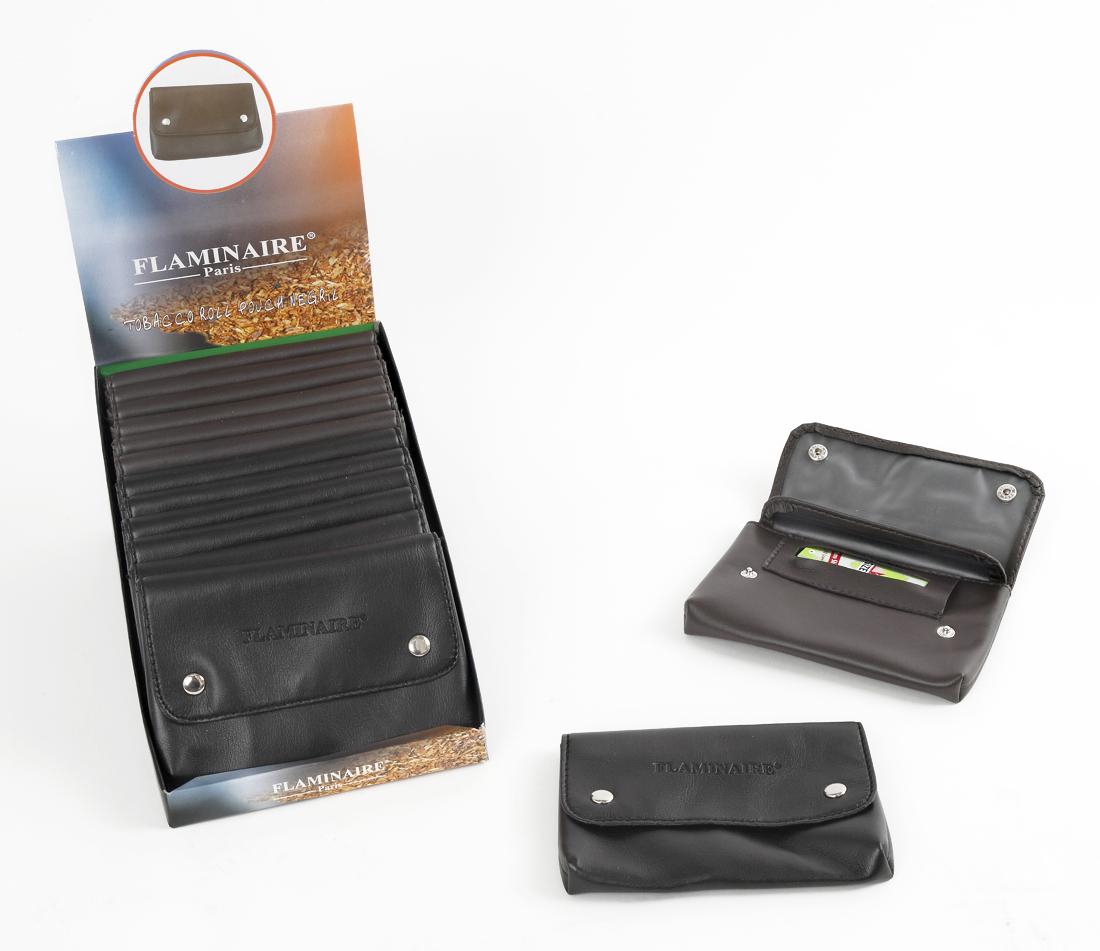 Busta porta tabacco flaminaire negril in pelle ecologica - Porta tabacco pipa ...