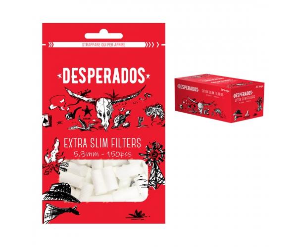 Filtri DESPERADOS Extra Slim 5,3 mm x 150