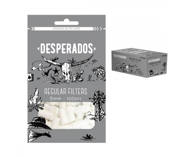 Filtri DESPERADOS Regular 8 mm