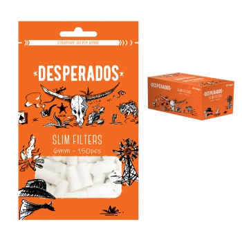 Filtri DESPERADOS Slim 6 mm x 150 filtri