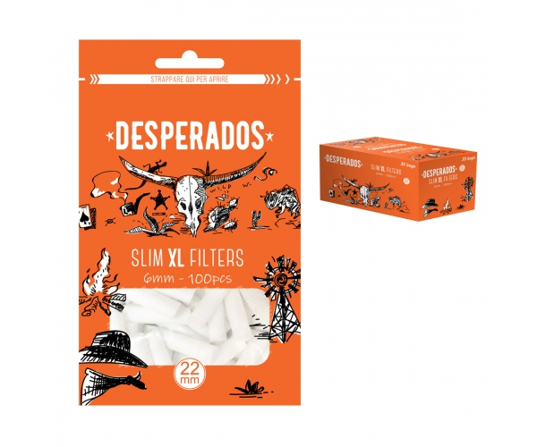 Filtri DESPERADOS Slim 6 mm XL