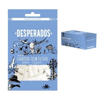 Filtri DESPERADOS Slim Carbone 6 mm